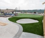 artificial grass installation 1