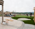 artificial grass installation 2