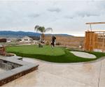 artificial grass installation 9