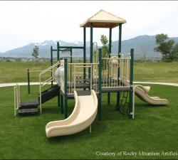 Courtesy of Rocky Mountain Artificial Grass - Green-R Turf Utah Dealer