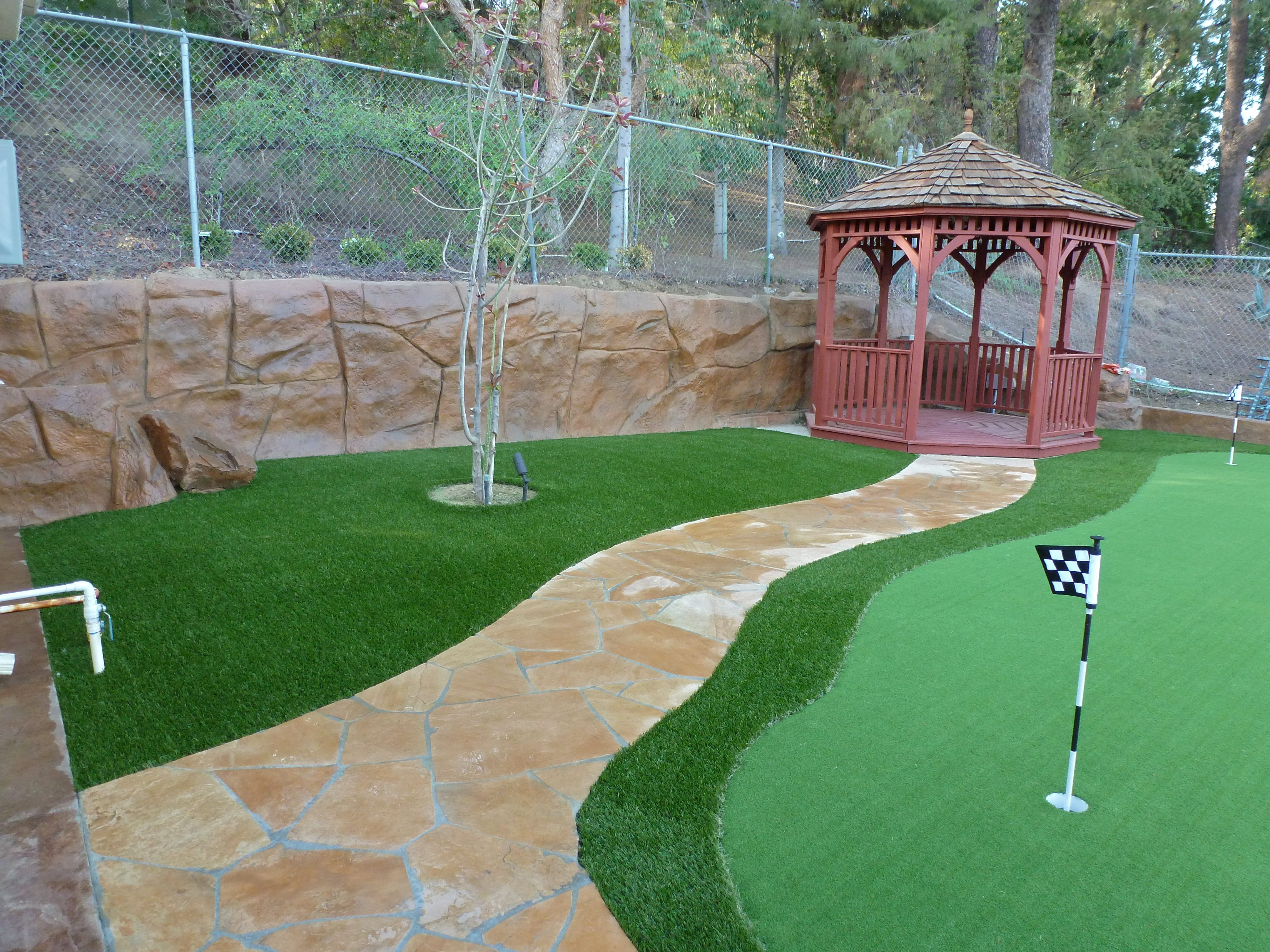 golf and putting green installations green r turf riverside corona